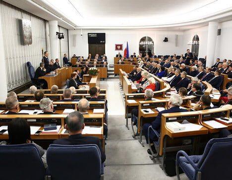 Senat za prolongatą.